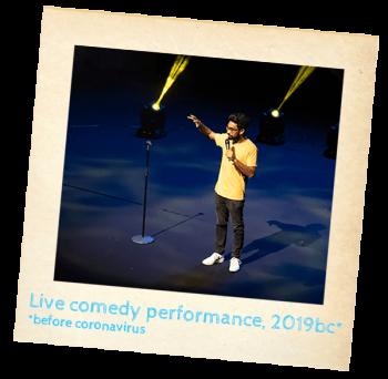 Suren Jayemanne Comedy Australia